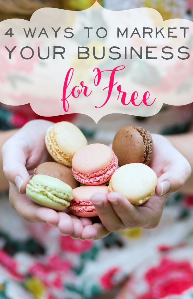Great Tips & Takeaways here! 4 Ways to Market your Business for Free. I knew vaguely about all of these but learned so many new tricks to really maximize my efforts.