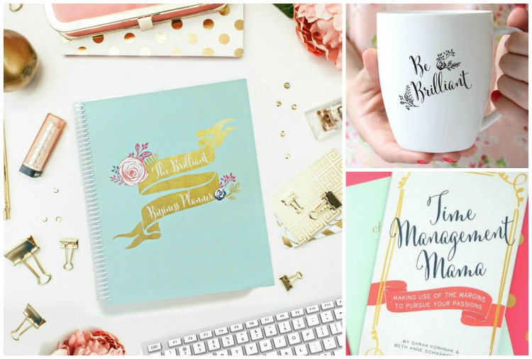 Money Making Mom Giveaway: The Brilliant Business Planner, Be Brilliant Mug, and Time Management Mama Book